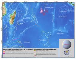 Indian Ocean Map Indian Ocean International Seabed Authority