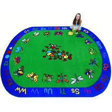 Childrens Area Rug Kritters Children S Tufted Educational And Play Area Rug 5