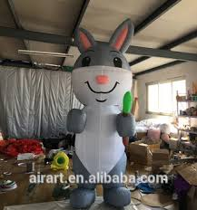 Easter Bunny Outdoor Decorations by Inflatable Giant Inflatable Bunny Outdoor Decoration Easter