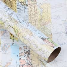 map wrapping paper roll maps 3m roll wrapping paper paperchase uk maps