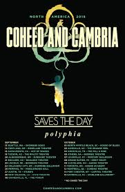 coheed and cambria coheed and cambria n american tour vip