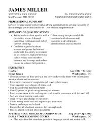 Resume Sle After School Program after school program coordinator resume after school program