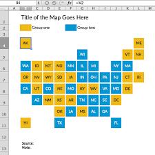 Grid Map Tile Grid Maps In Excel Policy Viz