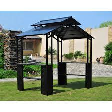 Outdoor Patio Grill Gazebo by Enthralling Gazebo Solar Lights Plus Outdoor Gazebo Lighting Ideas