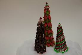 holiday diy how to make holiday themed candy trees youtube