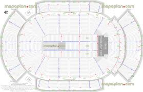 gila river arena detailed seat u0026 row numbers end stage concert