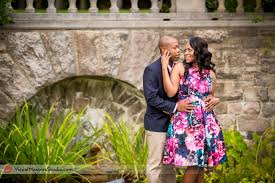 Botanical Gardens New Jersey Casually Engagement Session At New Jersey Botanical Garden