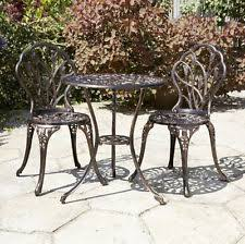 Cast Iron Bistro Chairs Cast Iron Garden Sets Ebay