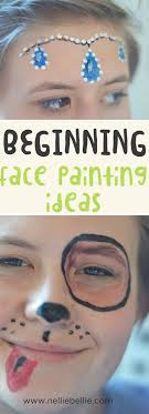 face painting tutorials for beginners easy basic ideas to start with