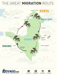 Kenya Africa Map by Map Of Kenya With National Parks And Highlights For Safaris