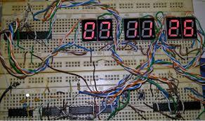 membuat jam digital led besar tutorial jam digital 6 digit dengan ic cmos cara mudah belajar