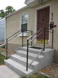 Porch Steps Handrail 39 Best Railings Images On Pinterest Wrought Iron Railings Hand