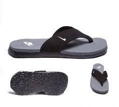 mens sandals nike celso thong plus sandal black white cool