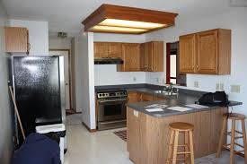 Kitchen  Simple Kitchen Bar With Lovely Decoration Using Wooden - Simple kitchen cabinet design