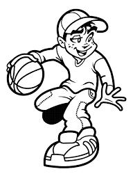Basketball Coloring Sheets Free Basketball Game Coloring Pages Basketball Color Page