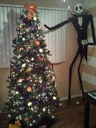 nightmare before skellington decorating my
