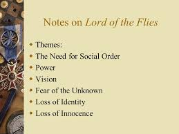 lord of the flies themes and messages essay notes lord flies college paper service