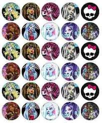 Where To Buy Edible Paper Monster High Cupcake Toppers Edible Wafer Paper Buy 2 Get 3rd Free
