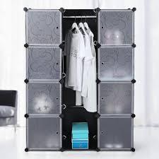 chambre a coucher cdiscount superbe armoire penderie cubes etaga re rangement modulables