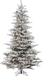 christmas tree artificial lark manor pre lit 85 white spruce trees artificial christmas
