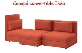 canap convertible orange canapé convertible pas cher ikéa le top 10 topdeco pro
