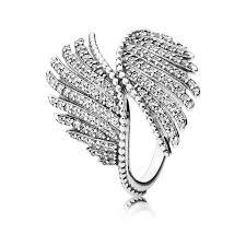 pandora jewelry majestic feathers clear cz pandora jewelry us