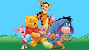 winnie the pooh easter eggs winnie the pooh tigger kangaroo roo piglet eeyore gray