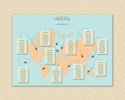World Maps Printable by World Map Wedding Seating Chart Map Wedding Table Plan