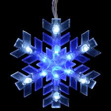 Snowflake Lights Outdoor Impressive Look Of Blue And White Outdoor Christmas Lights