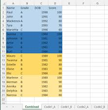 excel merge worksheets into one based on certain criteria using