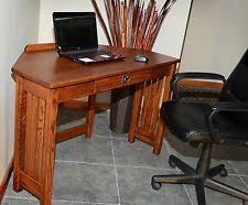 mission style computer desk arts crafts mission style computer desks office furniture ebay