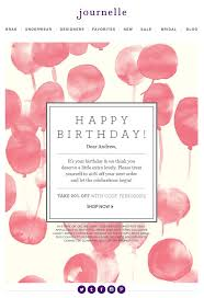 best 25 birthday email ideas on pinterest email marketing