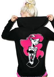 too fast punk rock ariel burnout hoodie dolls kill