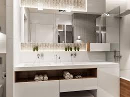 bathroom 31 led bathroom lighting with frameless mirror