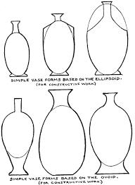 Vase Drawing Geometrical Form Vase Forms Png 450 614 Shapes Pinterest