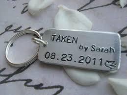 Anniversary Gifts Jewelry Black Friday Sale Taken Keychain Taken Boyfriend Girlfriend
