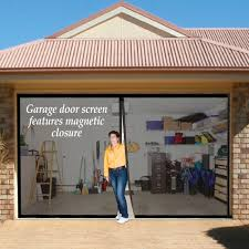screened garage doors u0026 do sliding garage screen doors affect the