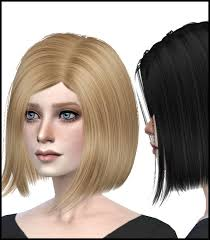 custom hair for sims 4 the sims 4 short lady s hair free download