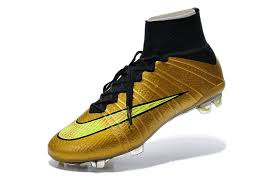 buy football boots germany packed cheap nike mercurial superfly fg gold black yellow