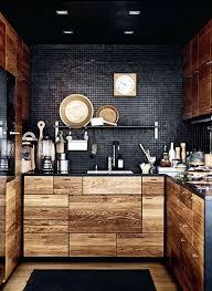 cuisine massif meuble de cuisine bas avec plan de travail la cuisine en bois