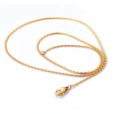 chain necklace gold designs images Women female fashion stainless steel thin chains necklaces gold jpg