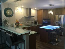 glass kitchen island 23 best glass kitchen countertops images on glass