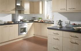 maple kitchen furniture cut price kitchens amalfi kitchen slab style door in a maple