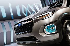 subaru viziv truck subaru viziv 7 concept previews new seven seat suv photos 1 of 5