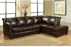 sofa leather sofa chaise astonishing leather sectional sofa from