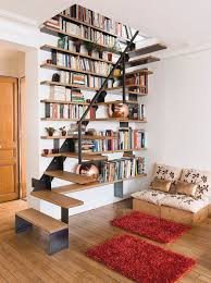 How To Build A Built In Bookcase Into A Wall 20 Ways To Turn Stairs Into An Amazing Bookshelf Library