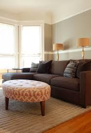 pink brown u0026 gray gray walls with chair rail bay windows