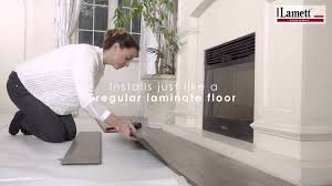 Laminate Flooring Bathrooms Atroguard Water Resistant Flooring Youtube