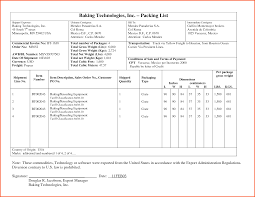 Packing List Template Excel 8 Sle Packing List Survey Template Words