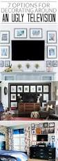 Undercounter Flat Screen Tv by Best 25 Tv On Wall Ideas Living Room Ideas On Pinterest Hanging